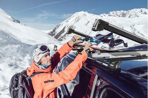 [Крепление Thule SnowPack Xtender 7325 для 5 пар лыж/2 сноуборда] - [TH 7325]