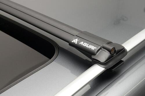 [Багажник на рейлінг Aguri Prestige Black] - [AG PB]
