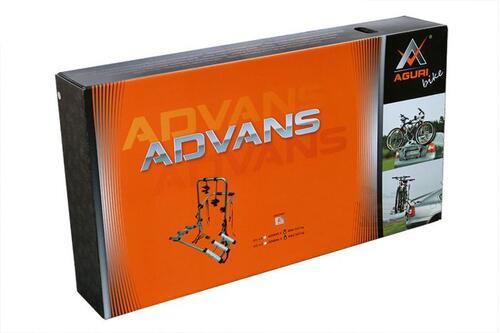 [Велокріплення на задні двері Aguri Advans Silver 3] - [AG AS-3]