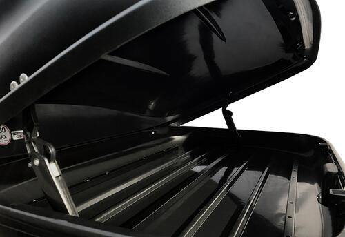 [Автобокс на дах авто Terra Drive 320 чорний правосторонній] - [TD-320B-R]