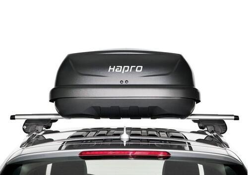 [Автобокс на дах авто Hapro Traxer 6.6 Anthracite] - [Hp Tr-66 An]
