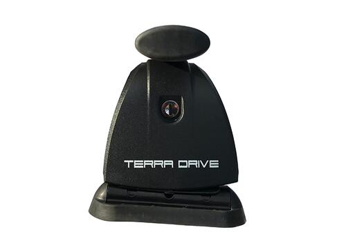 [Багажник в штатні місця Terra B-Fix High Oval з кожухом] - [TD-bfix-oval-p]