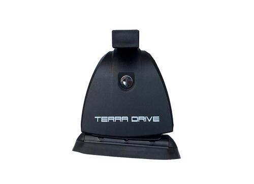 [Багажник в штатные места Terra B-Fix High Stl с кожухом] - [TD-bfix-stl-p]