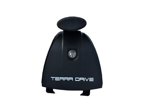 [Багажник в штатные места Terra Grip-Fix Oval с кожухом] - [TD-gripfix-oval-p]